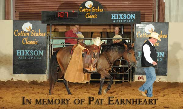 In memory of Pat Earnheart